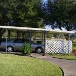 american aluminum freestanding carport