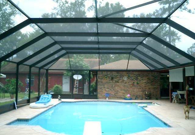 Carports patios room enclosures boat covers rv for Pool enclosure design software